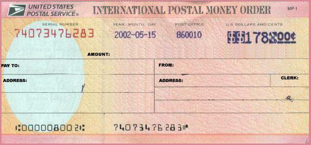how to redeem money order